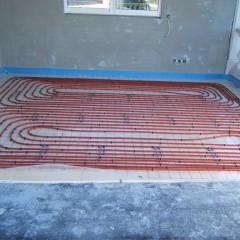 Plancher chauffant hydraulique St Tropez 02