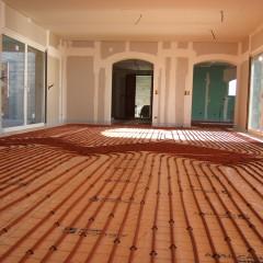 Plancher chauffant hydraulique St Tropez 03