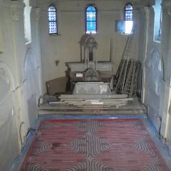 Plancher chauffant Eglise 03