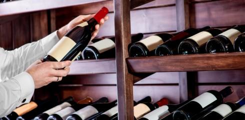 Aménagement de cave à vin